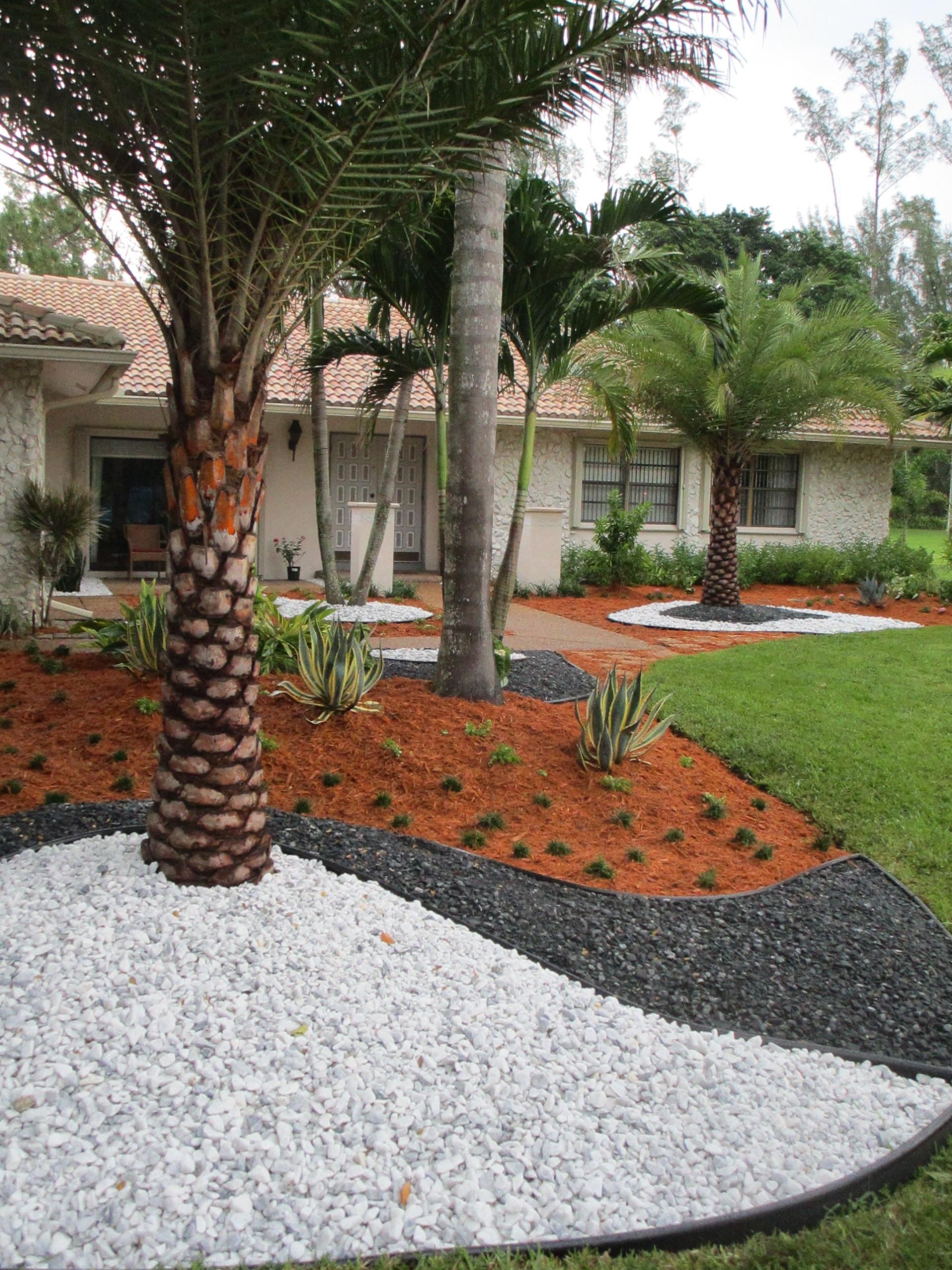 Stone Work Ground Landscape Design