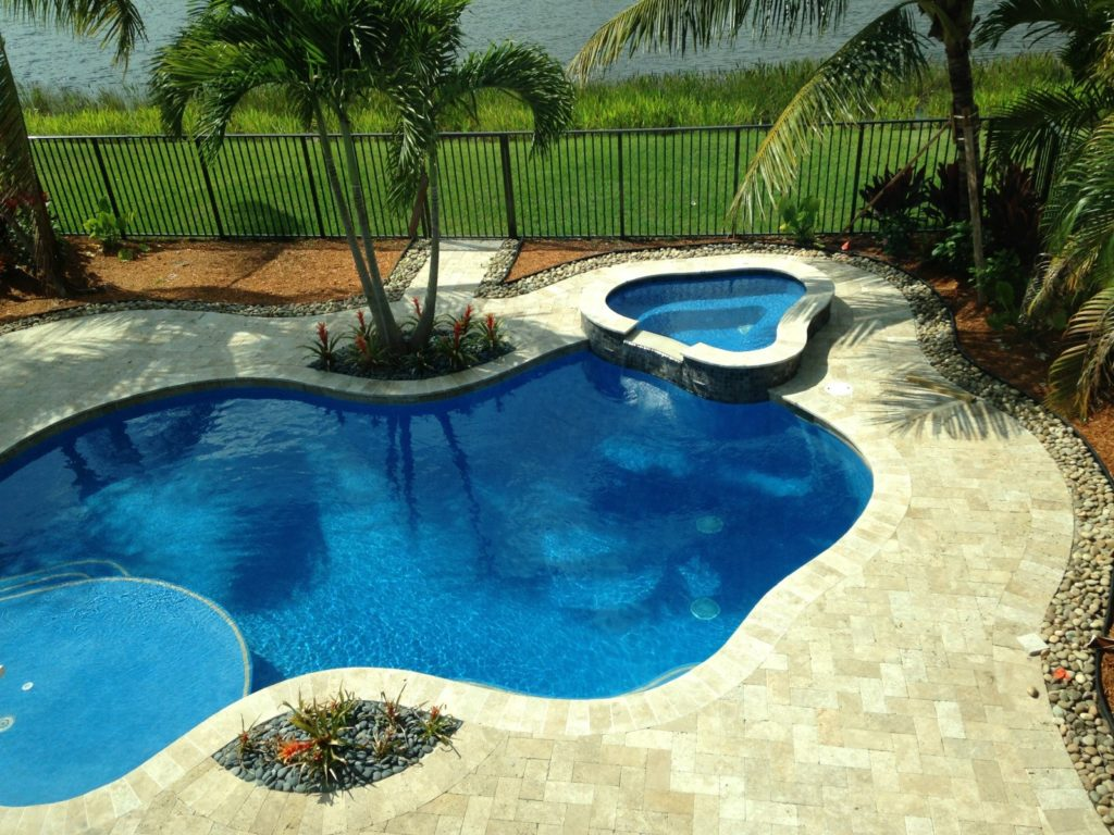 If you 39 re building a new pool here 39 s help with landscape for Pool design help