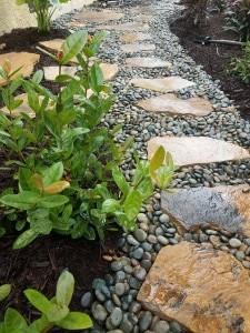 Flagstone Pathway Step Stones