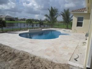 In Progress - Custom Pool & Landscape Design
