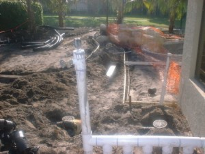 Drainage for New Pool & Patio